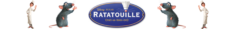 Ratatuille - 50% Off