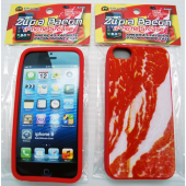 BACONI - Bacon Themed IPHONE 5 Case on Display Board (12pcs @ $1.25/pc)