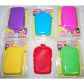 "IPHONEPUR - 7"" Colorful Silicone Iphone Purse in Display Box (12pcs @ $3.00/pc)"