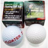 GOLFFLOAT - Novelty Trick Floatng Golf Balls in Box (12pcs @ $0.75/pc)