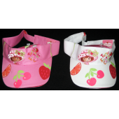 SSVIS - Strawberry Shortcake Embriodered Visors (6pcs @ $4.50/pc)