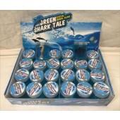 "CZSLIMESHA - 3"" Large Slime Jar with Shark Toy (24pcs @ $0.90/pc)"