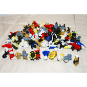 """Item# A1DODIB - 1.5"""" Assorted PVC Dogs in Disguise (100 pcs @ $0.20/pc)"""