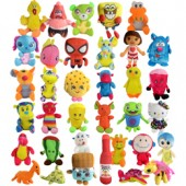 Item# A11L145 - Small 33% Licensed Plush Kit 6''-11'' (180 pcs @ $1.69/pc)