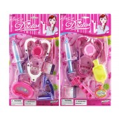 Item# KK38342 - 6-7 PCS. PINK DOCTOR PLAY SET W/ STETOSCOPE ON CARD (36pcs @ $1.60/pc)