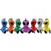 Item# A13GPKALIENS - Jumbo Punk Alien Plush Kit 12'' (48 pcs @ $3.69/pc)
