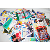 BBC33 - Asst Lot Of Baseball Cards Various Years (500pcs @ $0.02/pc)