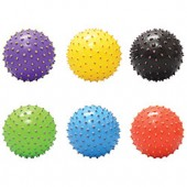 Item# A15PKNOB - 5'' Inflatable Painted Tip Knobby Balls (100 pcs @ $0.79/pc)