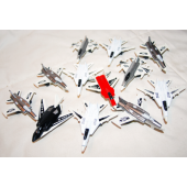 """BR246 - 3"""" Assorted G-Force Toy Fighter Jet (72 pcs @ $0.30/pc).."""