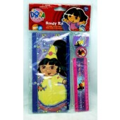 D4P - Dora the Explorer 4pc Stationary Set (12pcs @ $1.50/pc)
