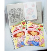 "STRCB - Strawberry Shortcake 11"" Coloring Book w/ Iron-On Transfers (12pcs @ $1.25/pc)"