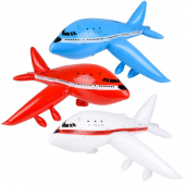 """PLANEINF - 33"""" Airplane Inflatable (12pcs @ $1.75/pc)"""