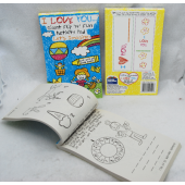 "BOOK8 - 100pg 8"" x 5"" Top Binded Activity Books (12pcs @ $ 1.00/pc)"