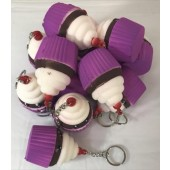"SQUICUP - 3"" Squishies Cupcake Keychains (12pcs @ $0.89/pc)"