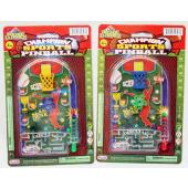 """CZPINB4 - 6"""" Sports Themed Pinball Game (12pcs @ $0.90/pc)..."""