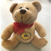"LMM20 - 5"" PLush Bear w/ Weighted Bottom (12pcs @ $1.10/pc)"