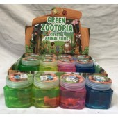 "CZZOOSLI - 2.5"" Colorful Slime With Zoo Animals Inside (12pcs @ $0.95/pc)"