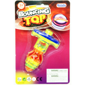 "BOUNCETOP -  Light Up Bouncing Tops on 8"" Card (12 @ $1.00/pc)"