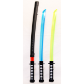 "NINJA5 - 27"" Light Up Ninja Swords ( (12pcs @ $2.90/pc)"