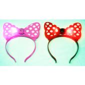 CZJB194 - Light Up Plastic Minnie Mouse Boppers (12pcs @ $1.50/pc)