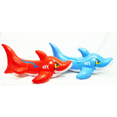 "SHAINF - 30"" Colorful Shark Inflatables (12pcs @ $1.75/pc)"
