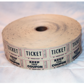 "BR441 - 7"" Roll of Raffle Tickets (1 pc @ $5.00/pc)"
