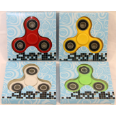 """HAND1 - Asst. Color Hand Spinners in 3.5"""" Box (12pcs @ $0.45pc)"""