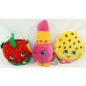 "SHOPPL - 12""-15"" Retail Quality SHOPKINS Plush Asst. (3pcs @ $7.95/pc)"