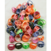 Item# A1CAMOB - Neon Camouflage Rings (100pcs @ $0.10/pc)