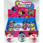 "CZWATBALL - 2.5"" Water Filled Light Up Animal World Balls (12pcs @ $0.95/pc)"
