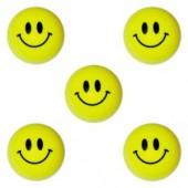 A1MISMB - 32mm Smile Face Bouncy Ball Asst. (100pcs @ $0.14/pc)