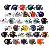 "Item #A1NFL31B - 2"" NFL Football Helmets (32pcs @ $0.38/pc)"