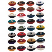 "Item# A1NFL44B - 2"" NFL Buildable Puzzle Erasers (32pcs @ $0.25/pc)"