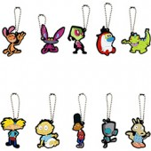 A1NIC138B - Nick '90s 2-D Figure Keychains in Bulk Bag (100 pcs @ $0.38/pc)