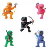 """Item# A1NIMEB - 1.5"""" Ninja Fighters Figurines (100pcs @ $0.10/pc)"""