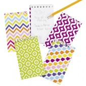 "NOTE13 - 5"" Fun Design Notepads (12pcs)"