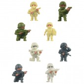"Item# A1REHEB - 1.5"" The Real Heroes Figures (100pcs @ $0.15/pc)"