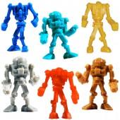 "Item# A1WARBB - 1.5"" Warbots Figurines in Bulk (100pcs @ $0.09/pc)"