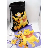 "WPSP  -  Winnie the Pooh 15"" Canvas Sac Pacs (6pcs @ $3.50/pc)"